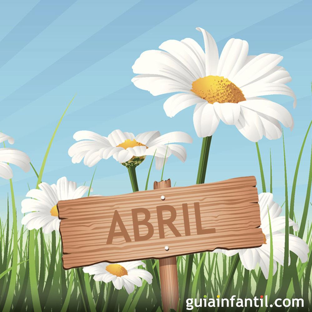 Abril. Poesía de Juan Ramón Jiménez para niños
