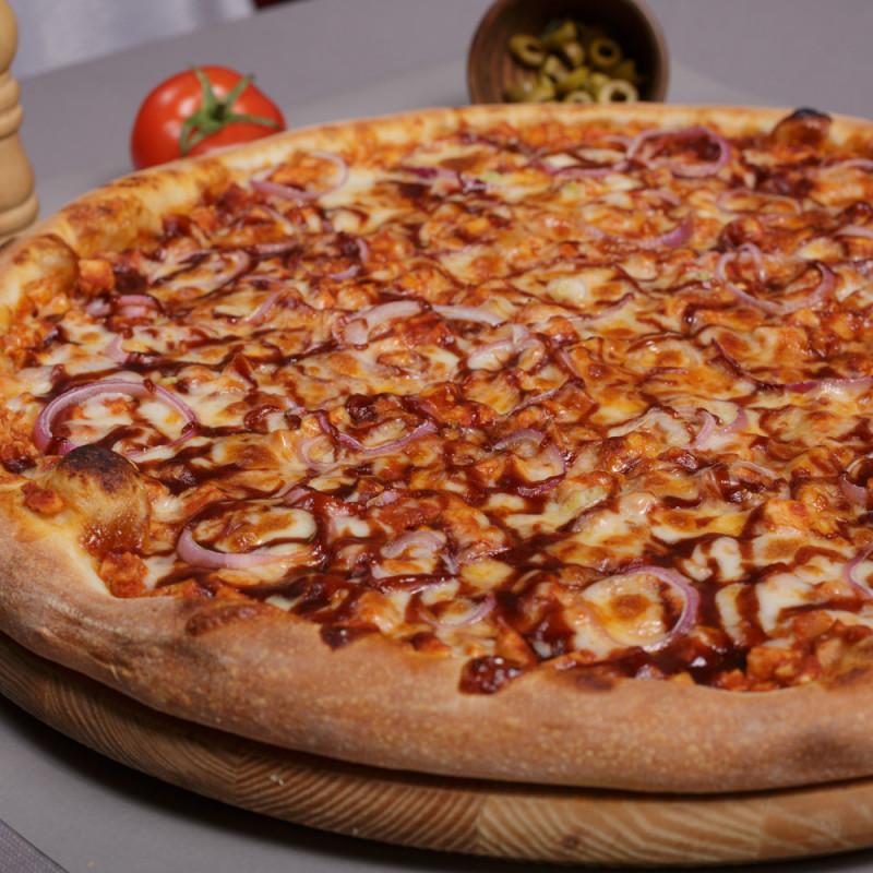 Pizza Barbacoa Un Clásico Para Niños