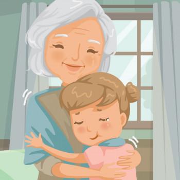Gracioso cuento con rima para niños sobre los abuelos