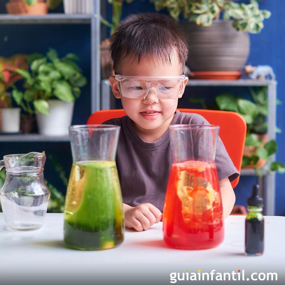 Agua Para Experimentos Hacer Con 7 Niños EDH29WIY
