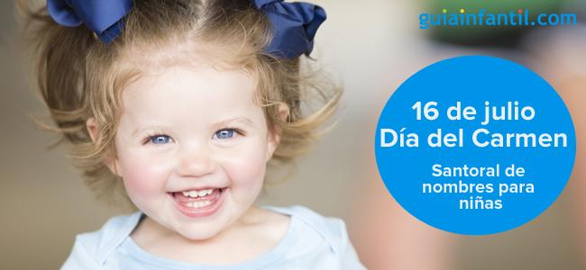 Día De Nuestra Señora Del Carmen 16 De Julio Nombres Para