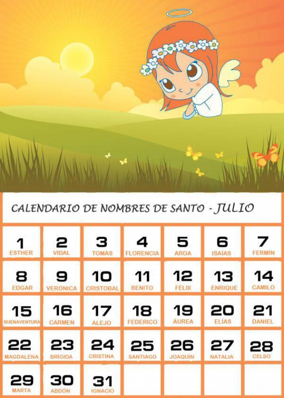 Calendario Santoral.Dia De Santa Ana 26 De Julio Nombres Para Ninas