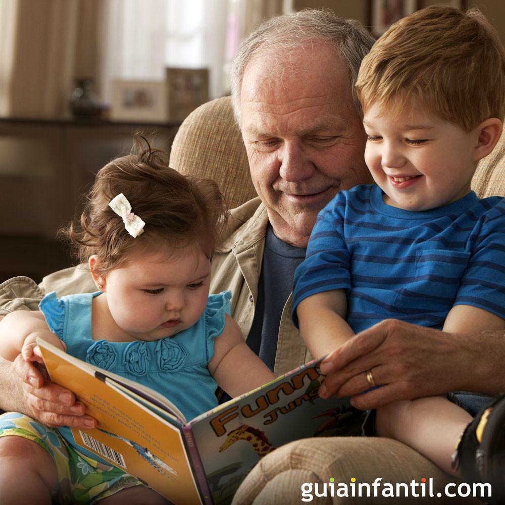 Los abuelos son unos perfectos cuentacuentos
