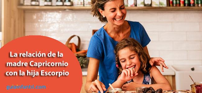 Compatibilidad de las madres Capricornio con las hijas Escorpio