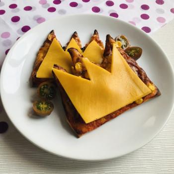 Receta de mini pizzas de aperitivo para tu fiesta infantil de princesas