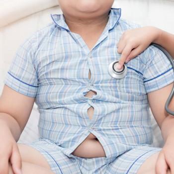 El hígado graso en los niños y la obesidad infantil