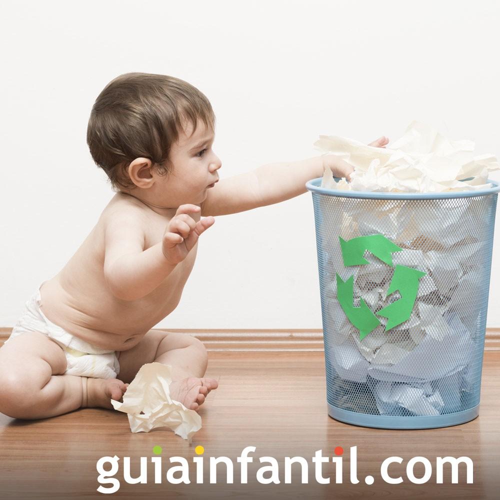 A Reciclar Enseña Desde Los Bebés Niños w8OknP0