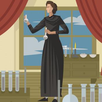 Biografía en cuento de Marie Curie