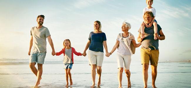 Vivir en familia como si fuéramos un equipo de padres e hijos