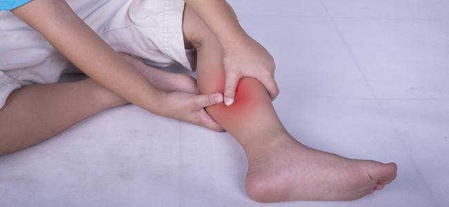 dolor de piernas en niño de 3 años