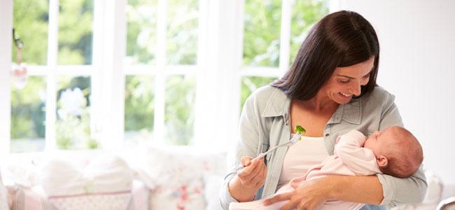La alimentación de la mamá tras el parto