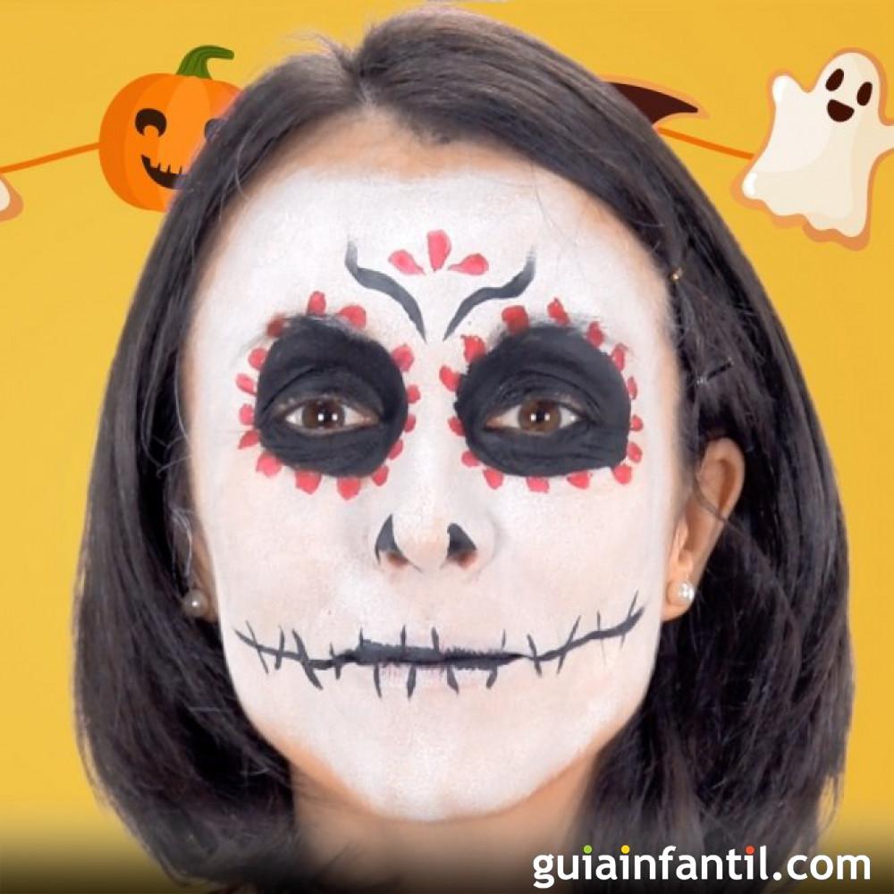 Catrina. Maquillaje para Halloween