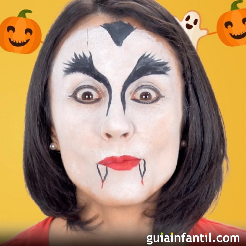 Maquillaje de vampiro para Halloween