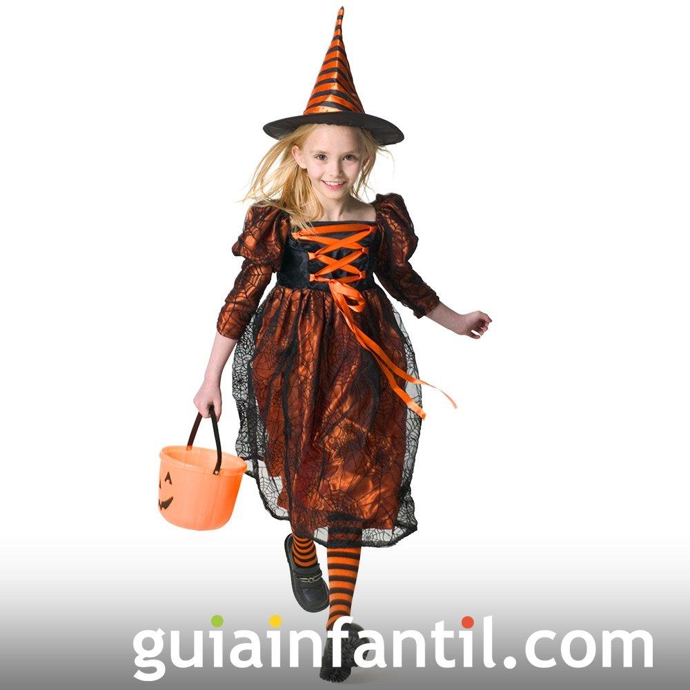 Disfraz De Bruja Para Ninas En Halloween - Disfraz-de-bruja-para-bebe