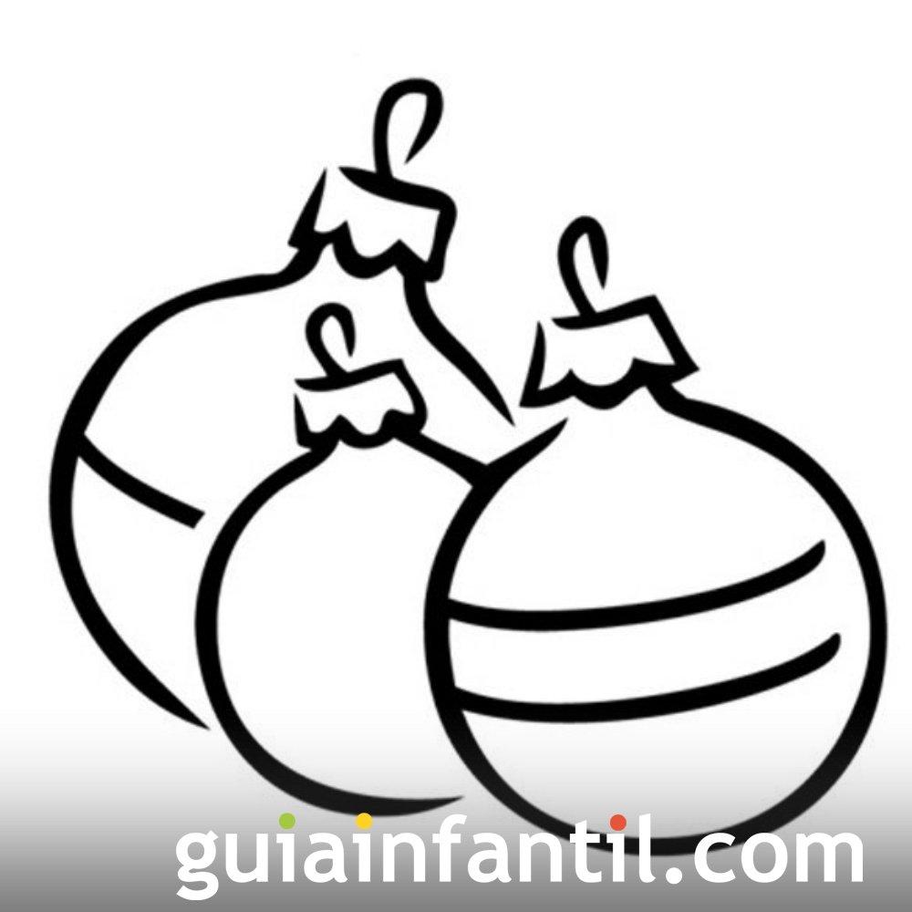 best Dibujos Infantiles De Bolas De Navidad image collection