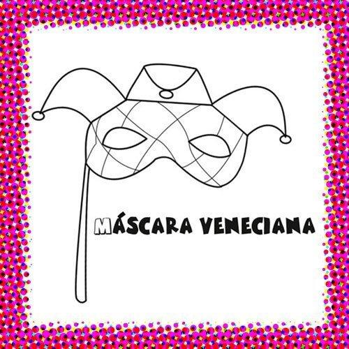 Máscara veneciana de Carnaval
