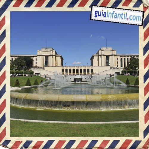 Plaza del Trocadero. Viajar a París con los niños