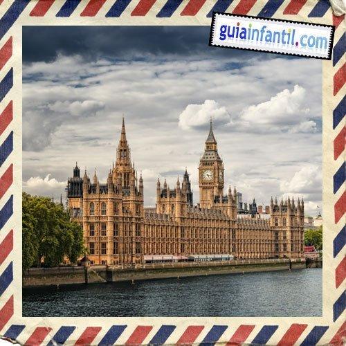 El Parlamento y el Big Ben. Viajar a Londres con niños