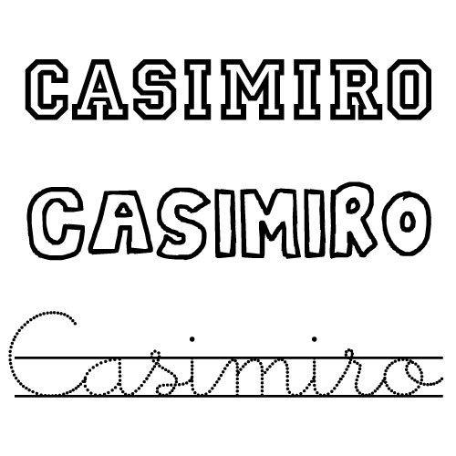 Casimiro. Nombres para niños