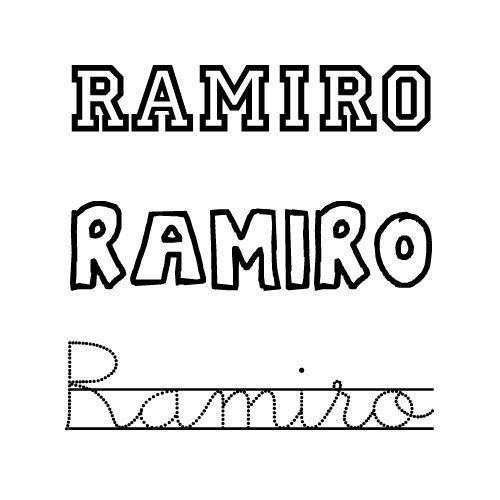 Ramiro. Nombres para niños