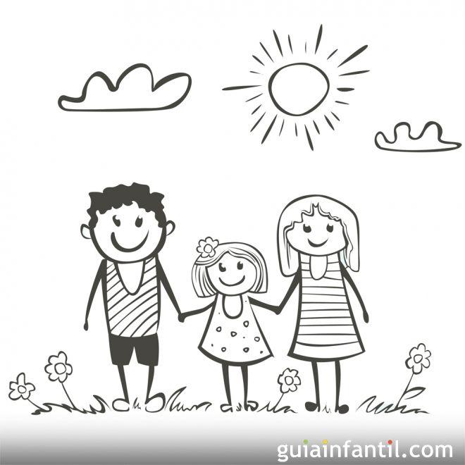 Dibujos para colorear sobre el medio ambiente y los niños