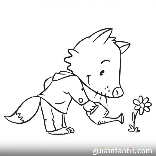 Dibujos infantiles sobre el medio ambiente y la naturaleza