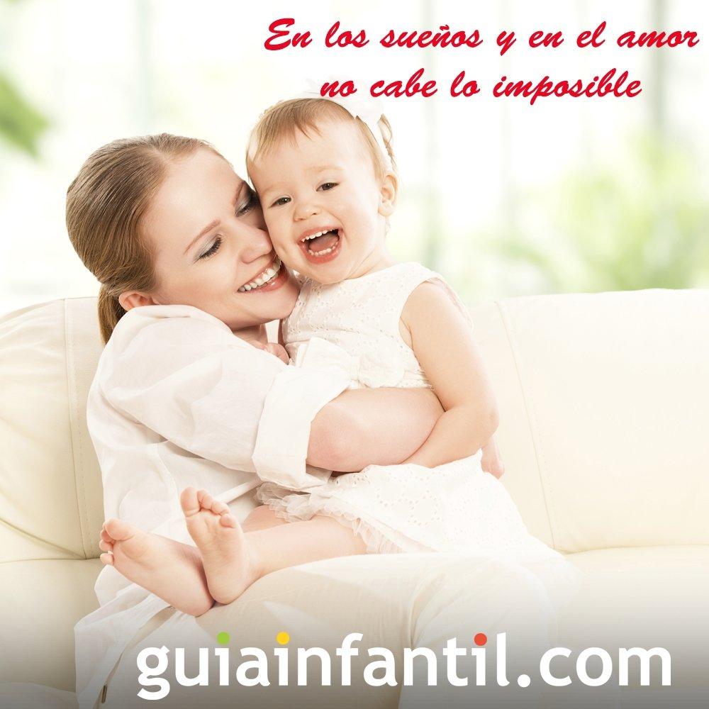 Madre Con Su Hijo Tarjetas De San Valentin Con Frases
