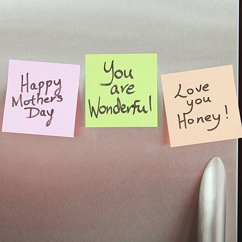 Mensajes en toda la casa para la madre