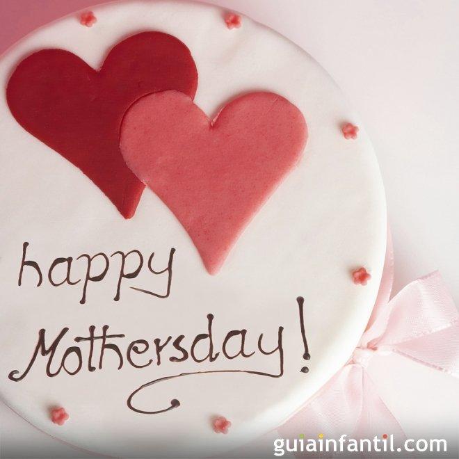 Una tarta por el Día de la Madre