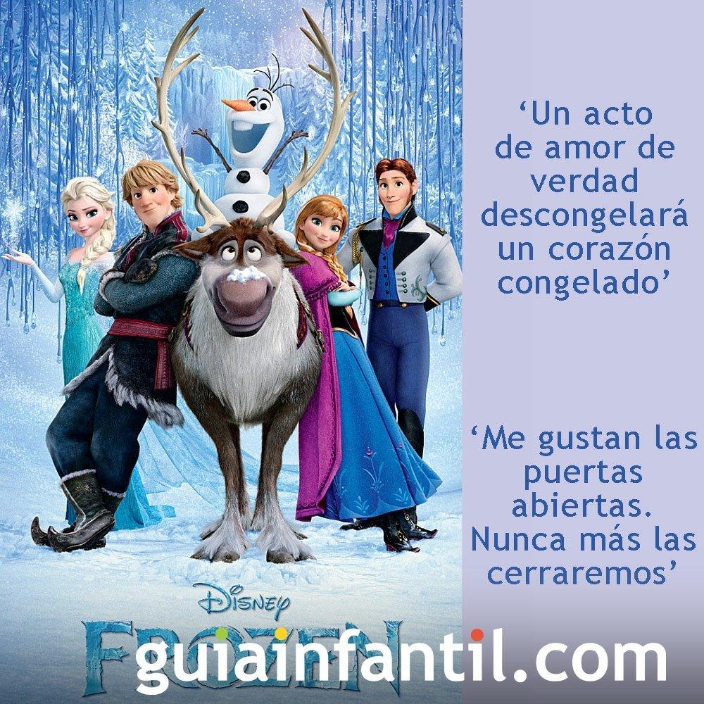 Frases De La Pelicula Frozen El Reino Del Hielo