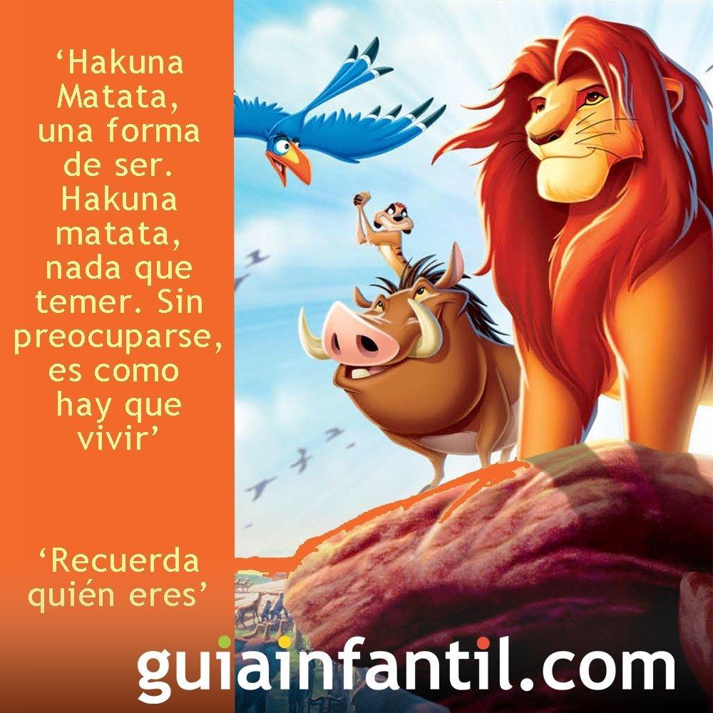 Frases de la película de El Rey León