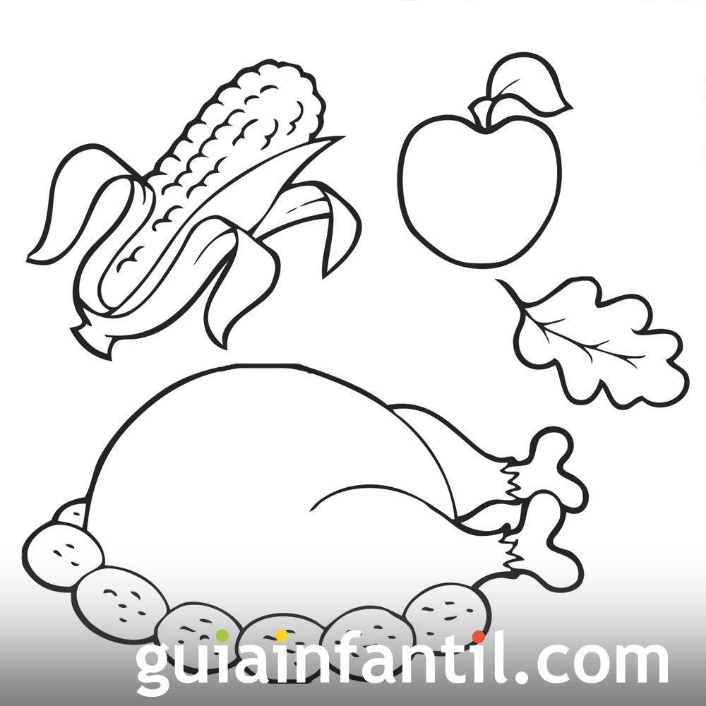 Alimentos que se comparten en el Thanksgiving Day