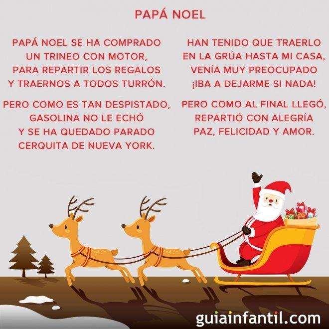 Papá Noel. Unas rimas navideñas