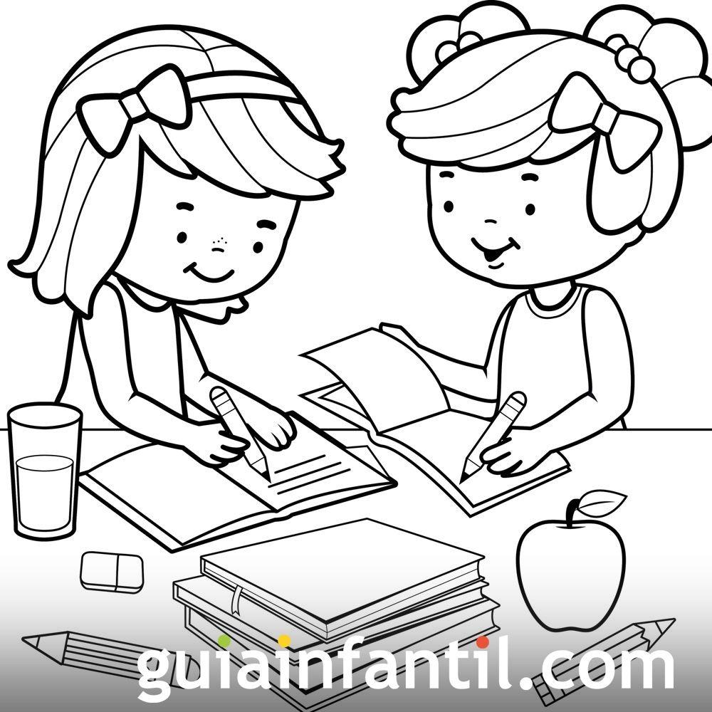 Dibujos Para Colorear Derecho Del Nino A La Educacion