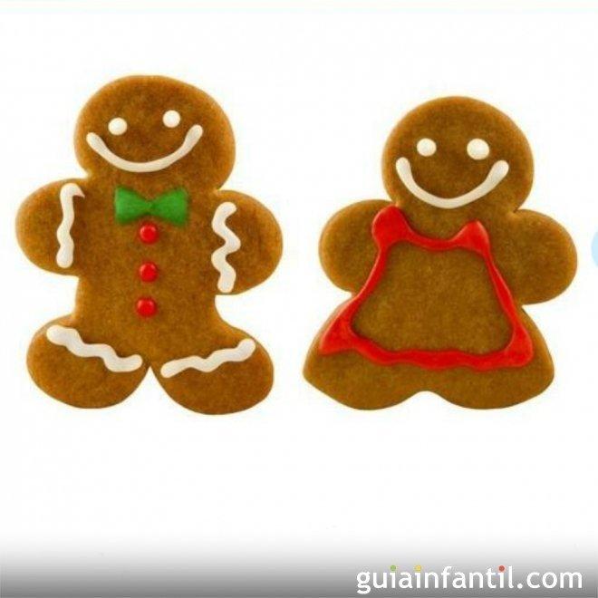 Muñecos de nieve de galleta