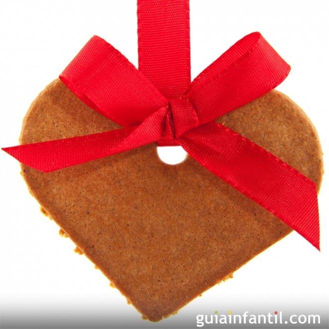 Corazones navide os de galleta ideas de galletas para - Imagenes de corazones navidenos ...