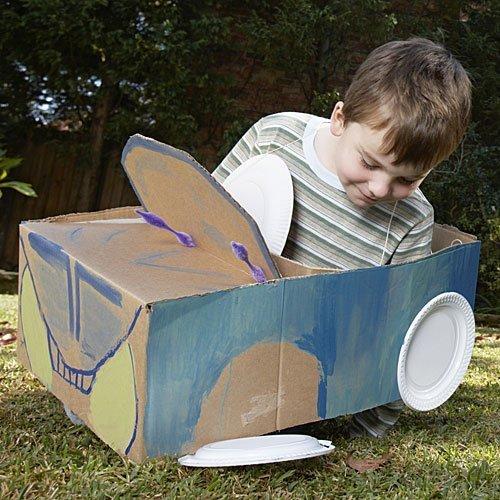 Un coche divertido para los niños