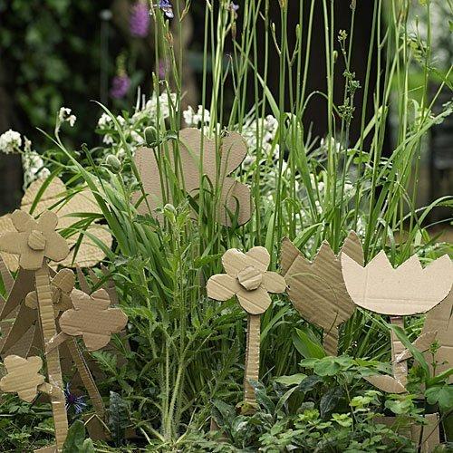 Unas flores originales para decorar un jardín