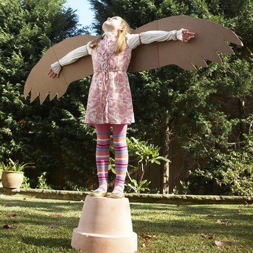 Unas alas enormes para los niños