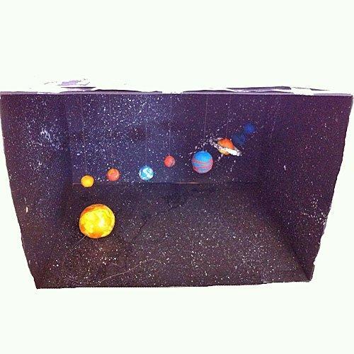 Un sistema solar muy creativo para los niños