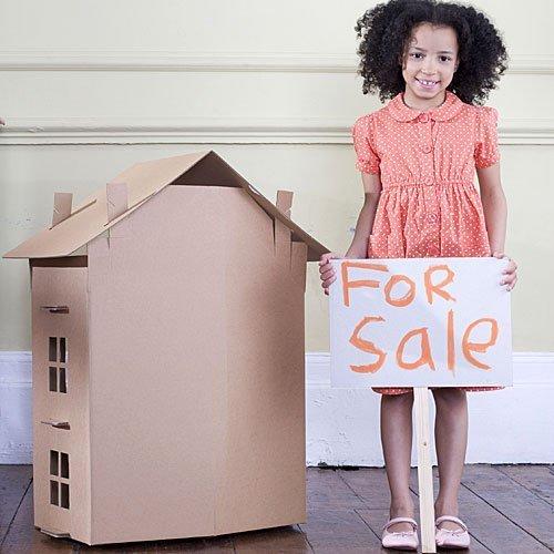 Una casita de alquiler para los niños