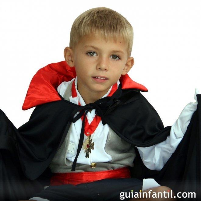 Disfraz de Vampiro o Dracula para niños