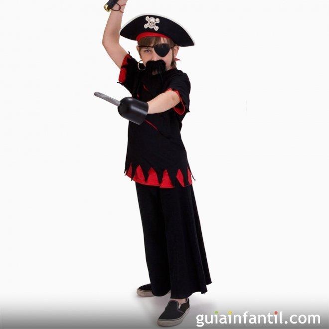 Disfraz de Pirata para niños en Halloween