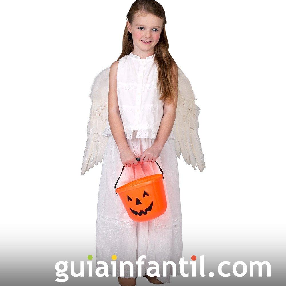 Disfraz de Ángel para la noche de Halloween