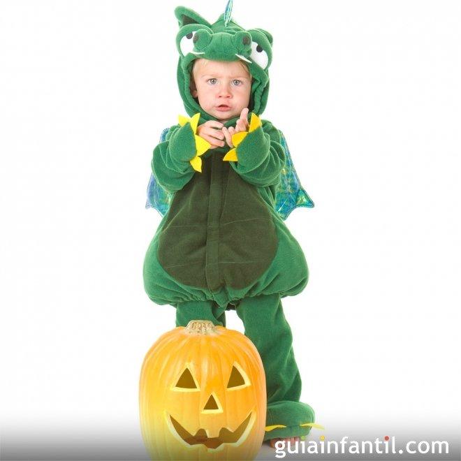 Disfraz de drag n para beb s en halloween - Disfraces de halloween bebes ...