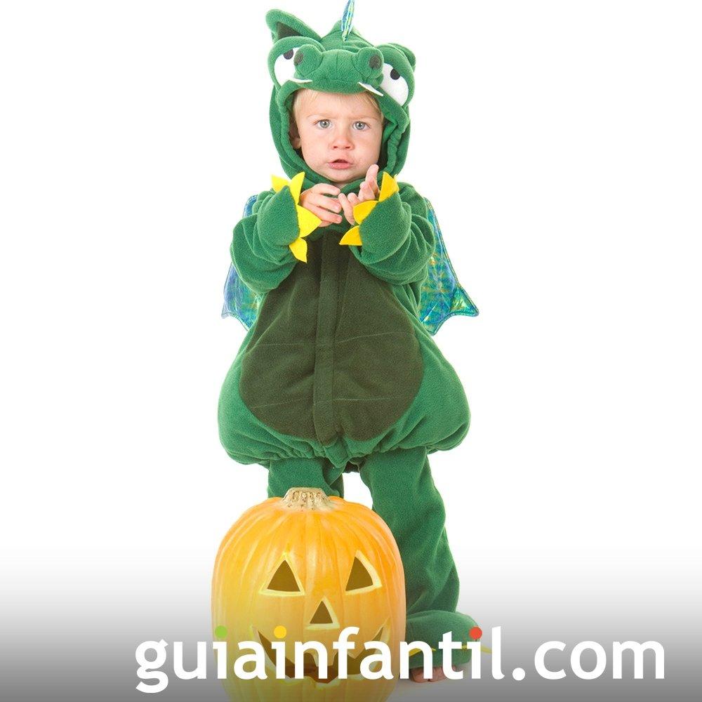 Disfraz de Dragón para bebés en Halloween