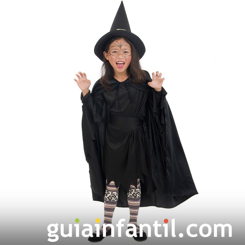 Disfraz de Bruja para la fiesta de Halloween