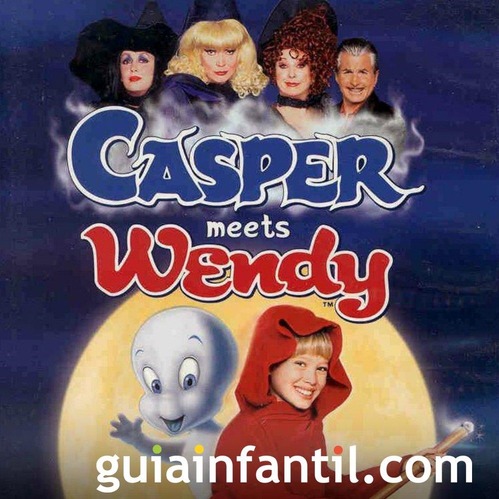 Casper y la mágica Wendy. Película para niños