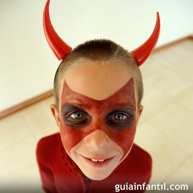 Maquillaje de Diablillo para Halloween