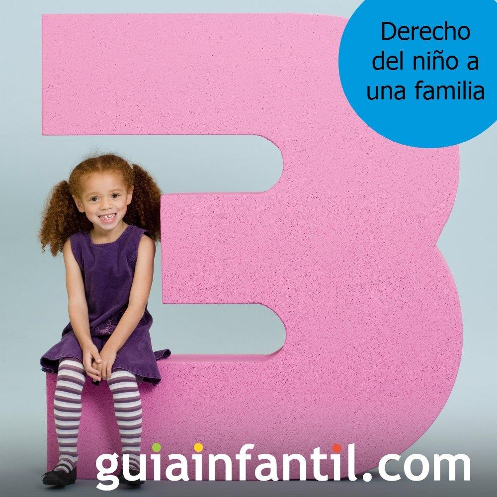 Los niños tienen derecho a una familia